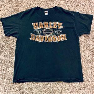 Harley Davidson Motorcycles T Shirt Size XL
